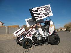 Devon Amos minisprint. NM state champion. (It's for sale)