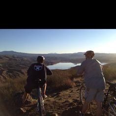 Starting the new year right! Vail Lake, Ca. Jan 1, 2012