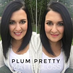 Plum Pretty LipSense and Matte Gloss