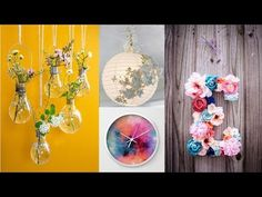 15 SUPER COOL DIY ROOM DECOR YOU NEED TO TRY THIS SUMMER ! JUN 2017 - YouTube