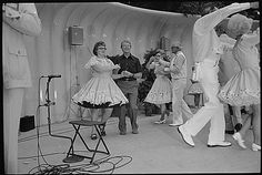 """""""Jimmy Carter square dances during a Congressional Picnic on the South Lawn., 07/20/1977"""""""