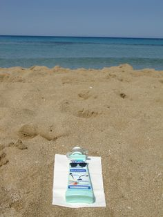 Dr. Beckmann Stain Devils Pens & Ink taking time out on a beautiful sicilian beach #stainfree #laundry