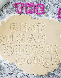 The Best Sugar Cookie Recipe Best Sugar Cookie Recipe, Best Sugar Cookies, Sugar Cookie Dough, Iced Cookies, Royal Icing Cookies, Holiday Cookies, Yummy Cookies, Cupcake Cookies, Cupcakes