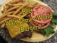 """One of the most """"common"""" theme park food option is the hamburger. It's such a typical choice, much like hot dogs, pizza, and chicken nuggets are. Many pl"""