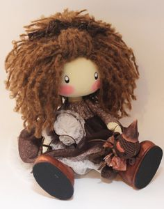 Hey, I found this really awesome Etsy listing at https://www.etsy.com/listing/231929127/doll-lili-milk-brown-textile-doll-cloth