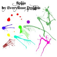 Spills - Download  Photoshop brush http://www.123freebrushes.com/spills-2/ , Published in #GrungeSplatter. More Free Grunge & Splatter Brushes, http://www.123freebrushes.com/free-brushes/grunge-splatter/ | #123freebrushes