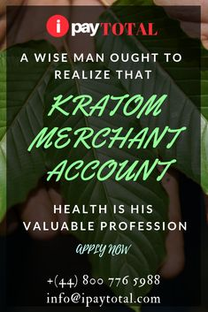 Kratom Merchant Account discussion: Why it's High Risk