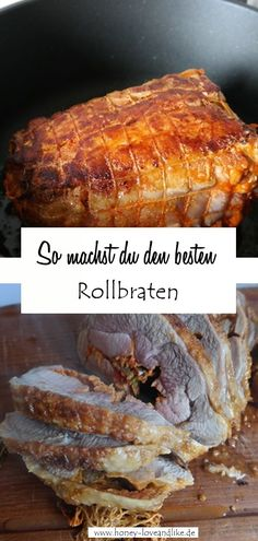 Cook the roast in the Roman pot with potatoes - gently and fat-free Party Buffet, Easy Peasy, Roast, How To Memorize Things, Good Food, Pork, Food And Drink, Potatoes, Favorite Recipes
