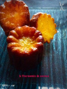Cannelés de Bordeaux ou aux carambar au thermomix ou pas | Avec le thermomix de zazoun