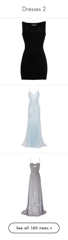 """""""Dresses 2"""" by frankie-and-gee ❤ liked on Polyvore featuring dresses, black, jersey dresses, viscose dresses, mini dress, sleeveless short dress, jersey mini dress, gowns, long dress and luisa beccaria"""