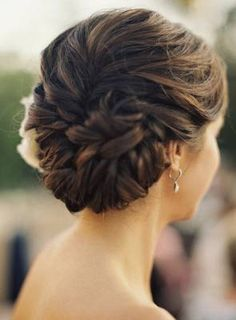 Classic Updos. Pretty. Maybe with looser curls.