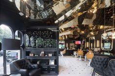 ร้านตัดผม Barberia Royal ที่จะรวมบิตสุ่มในรูปแบบร่วมสมัยและแบบดั้งเดิมของยุโรป | fPdecor.com | ศูนย์รวมแบบบ้านฟรี และตกแต่งภายใน