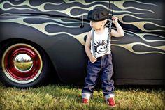 Rock-and-roll boys fashion