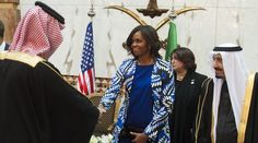 US media coverage of Michelle Obama's Saudi Arabia trip isn't just wrong — it's racist.