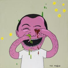 Laurina Paperina - Yue Minjun | Oeuvre d'Art en Vente Artsper