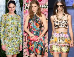 With summer around the corner & fashion supporting tropical prints it seems that weekend getaways, beach days and barbecues are here.