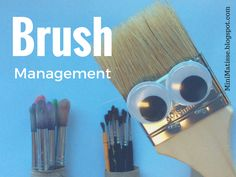 This idea of Mr. Brush is not new... but it works so well. I have used this video with my K's through 3rd grade. Each group get's a l...