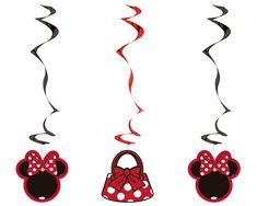 Minnie Roja Espiral Minnie Mouse, Abstract, Create, Artwork, Spirals, Red, Summary, Work Of Art, Auguste Rodin Artwork