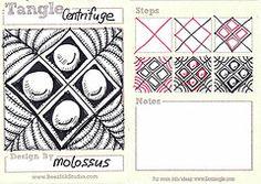Centrifuge tangle pattern