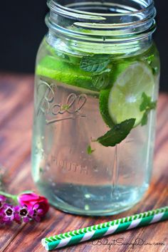Fat Flush Detox Drink Recipe | Budget Savvy Diva Ingredients: Water 1 Lime 1 Green Tea Bag ¼ Cup of Mint Leaves