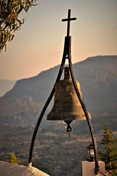 https://flic.kr/p/C2LWTu | Monastery Bell | Tsambika Church - Rhodes
