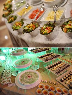 Always good to have food at a wedding set up as a buffet style easier & more variety!