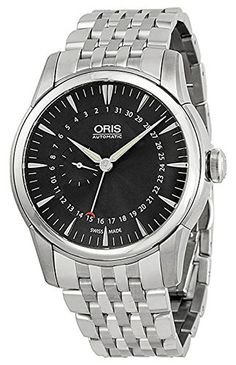 Oris Artelier Pointer Date Automatic Stainless Steel Mens Watch Black Dial 744-7665-4054-MB. Product details http://astore.amazon.com/usxproducts-20/detail/B00LU1GM0A