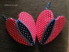 Herzen Topfhandschuh