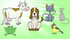 Liedje voor kleuters: dieren tellen (Engels)