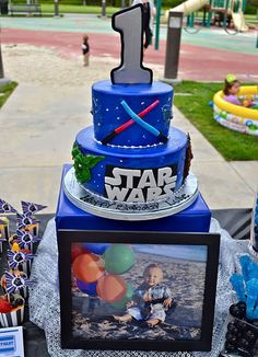Star Wars Party cake