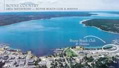 Boyne City Beach Club & Marina! Coming Soon...forever.