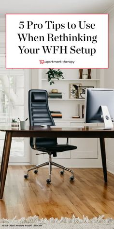 Transitioning from a temporary WFH setup to a permanent one can take some careful planning and consideration, especially if you're working with a small or multi-purpose space. Small Office Desk, Home Office Setup, Home Office Space, Office Ideas, Interior Design Courses, Interior Design Business, Small Space Living, Small Spaces, Open Spaces