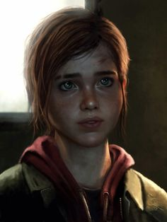 - Ellie - The Last of Us - by `Anathematixs on deviantART Fantasy Portraits, Character Portraits, Gta 5, 1 Y 2, Beyond Two Souls, Joel And Ellie, Last Of Us, The Witcher, Dark Drawings