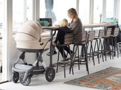 Luxe and Modern Scandinavian Designed Stroller via OUR LITTLE PHOTO DIARY BLOG