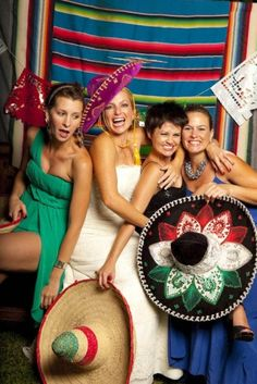 26 Funny Photo Booth Props Ideas For Your Wedding