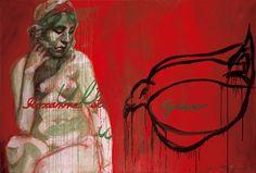 Roxanne et cyrano by Kuutti Lavonen. Painting, Art, Finland, Craft Art, Painting Art, Kunst, Paint, Draw, Paintings