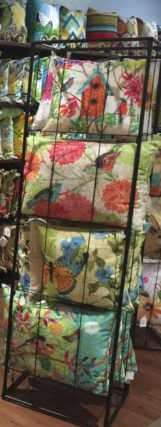indoor/outdoor pillow for home decor; The Barn Nursery, Chattanooga exit 181