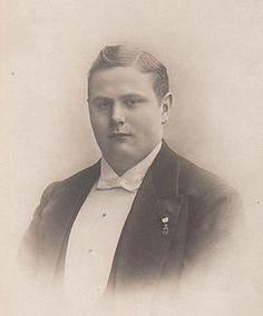 Gustav of Denmark (1887 - 1944). Son of Frederick VIII and Louise of Sweden.