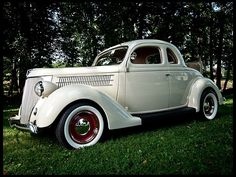 1936 Ford Deluxe Coupe. Maintenance/restoration of old/vintage vehicles: the material for new cogs/casters/gears/pads could be cast polyamide which I (Cast polyamide) can produce. My contact: tatjana.alic14@gmail.com