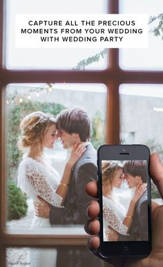 Use Wedding Party to capture all the photos your guests take at your engagement party, bridal shower, rehearsal dinner, wedding  reception! Sign up today -- it's totally free!