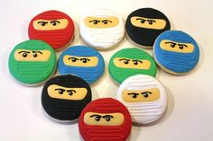 ninjago cookies | Ninjago cookies | Cookie Connection