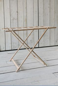 Browse our range of new lines, from practical homeware items to lovely gifts and Outdoor Clothes Lines, Garden Furniture, Diy Furniture, Wooden Clothes Drying Rack, Diy Unicorn Birthday Party, Drying Room, Laundry Room Inspiration, Clothes Dryer, Diy Camping