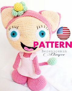 Pattern-Amigurumi Waybuloo English Pattern by BERENICEMINDUNYASI