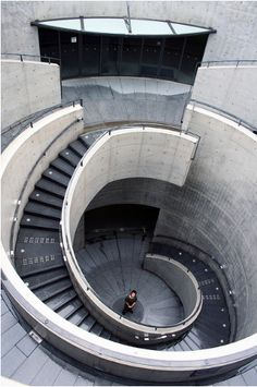 Hyogo Museum of Arts by Tadao Ando in Kobe Japan