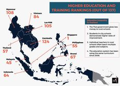 Inequality in education Credit Suisse, Countries Of The World, Higher Education, Cambodia, Laos, Philippines, Singapore, Vietnam, Thailand