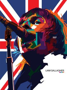 Liam Gallagher by dhe-art on DeviantArt Liam Gallagher Oasis, Noel Gallagher, Logo Ig, Pop Art Artists, Band Wallpapers, Pop Art Portraits, Art Music, Design Inspiration, Daily Inspiration