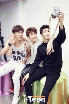Rocky, Moonbin & Eunwoo