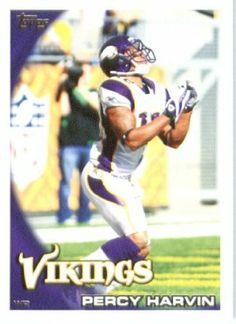 2010 Topps NFL Football Card # 239 Percy Harvin - Minnesota Vikings - NFL Trading Card in a Protective ScrewDown Case! by Topps. $1.00. NOTE: Stock Photo Used. Contact Seller with any Questions. Check out other listings for other stars from this popular set!. Card is shipped in a protective screwdown case to preserve its condition!. Great looking 2010 Topps NFL Football Card!!. This is just one of the 1000s of great sports cards offered. 2010 Topps NFL Football Card # 239 Percy...