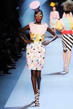 Christian Dior Fall 2011 Couture Fashion Show - Ajak Deng