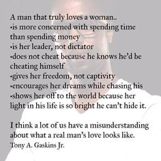 When A Man Loves A Woman Quotes Fascinating When A Man Loves A Woman